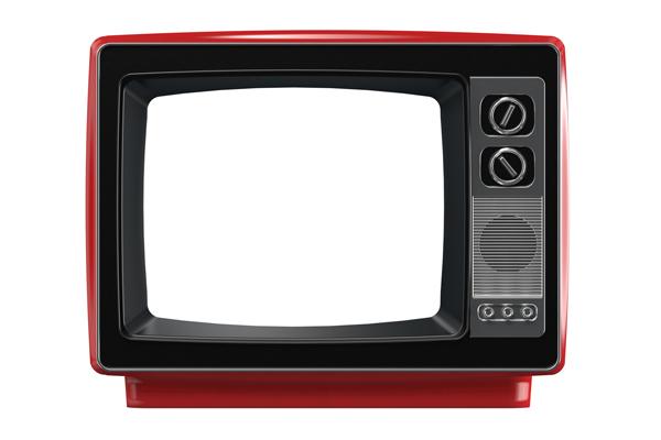 従来の広告媒体の代表例テレビCM