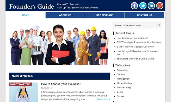 オンラインメディア・ブログ|Foundersguide.com