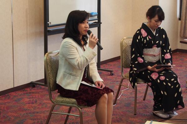 女性起業家団体VenusClub 竹下香織代表