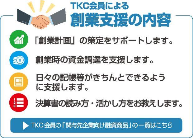 TKC会員による創業支援の内容